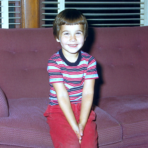 Leigh, age 4.