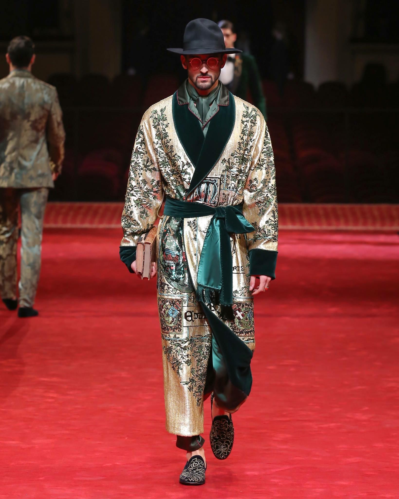 david Lundin Dolce Gabbana