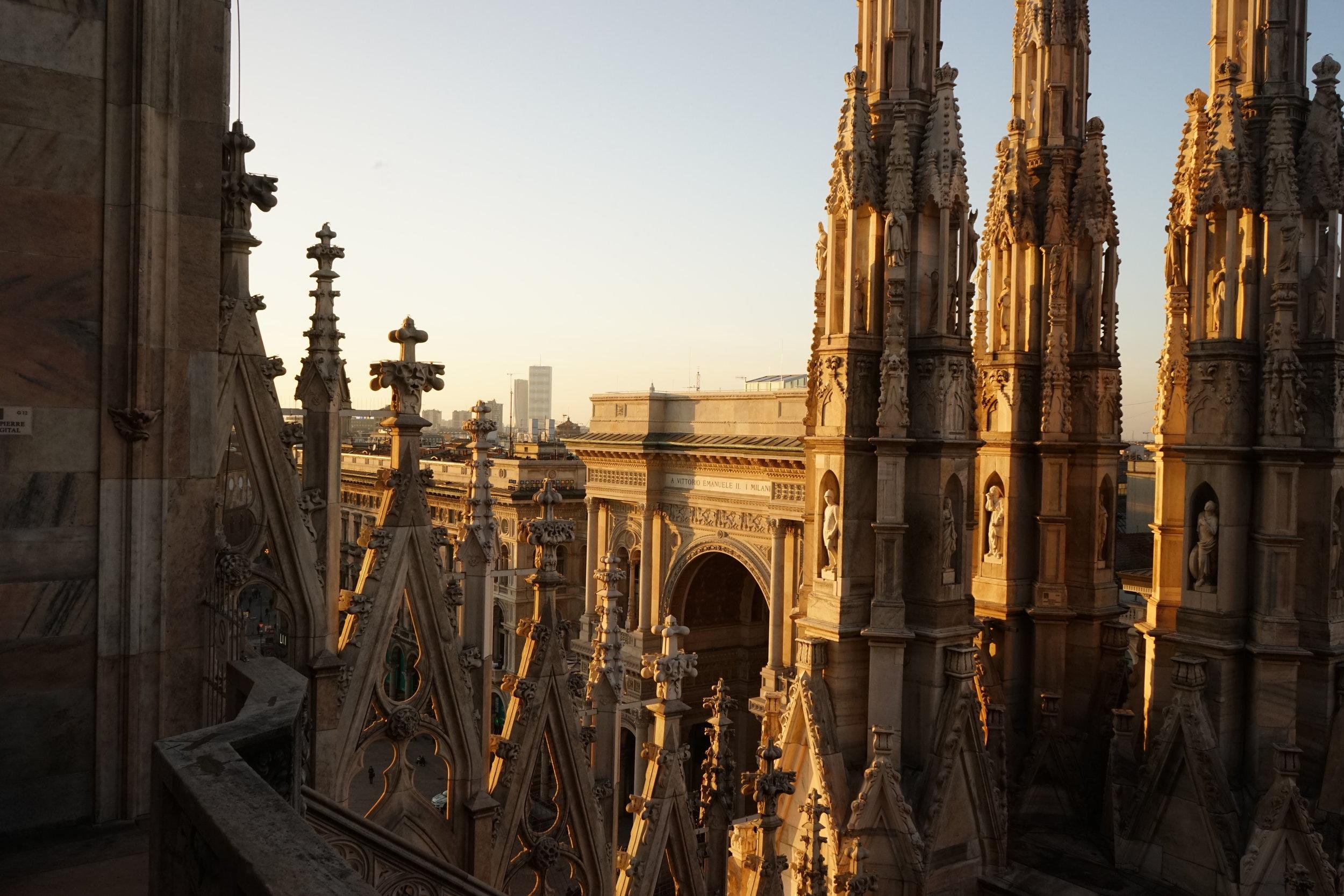 On Top Of Duomo next to the Clouds Model David topmodel lundin-03.jpg