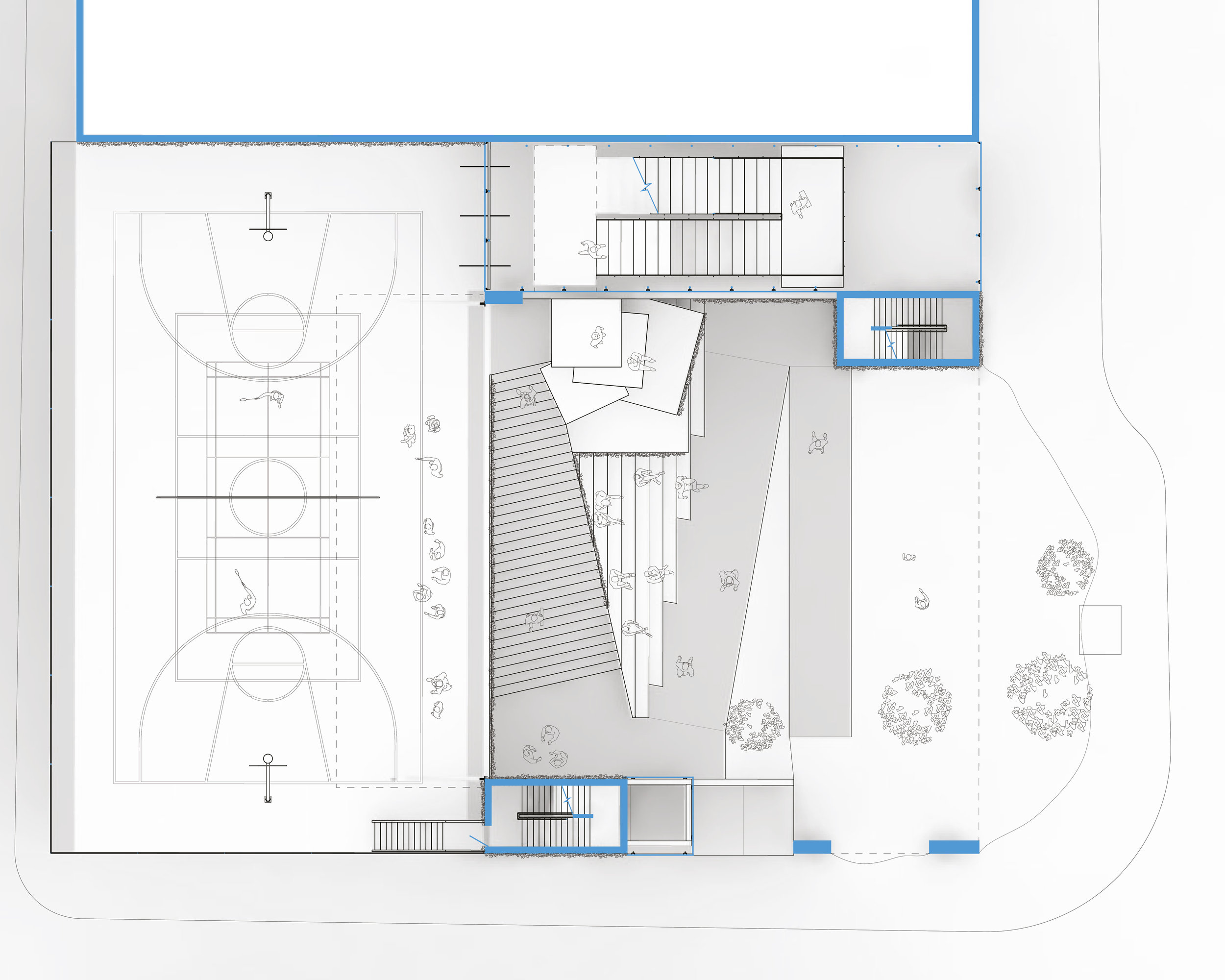 Plaza Level Plan