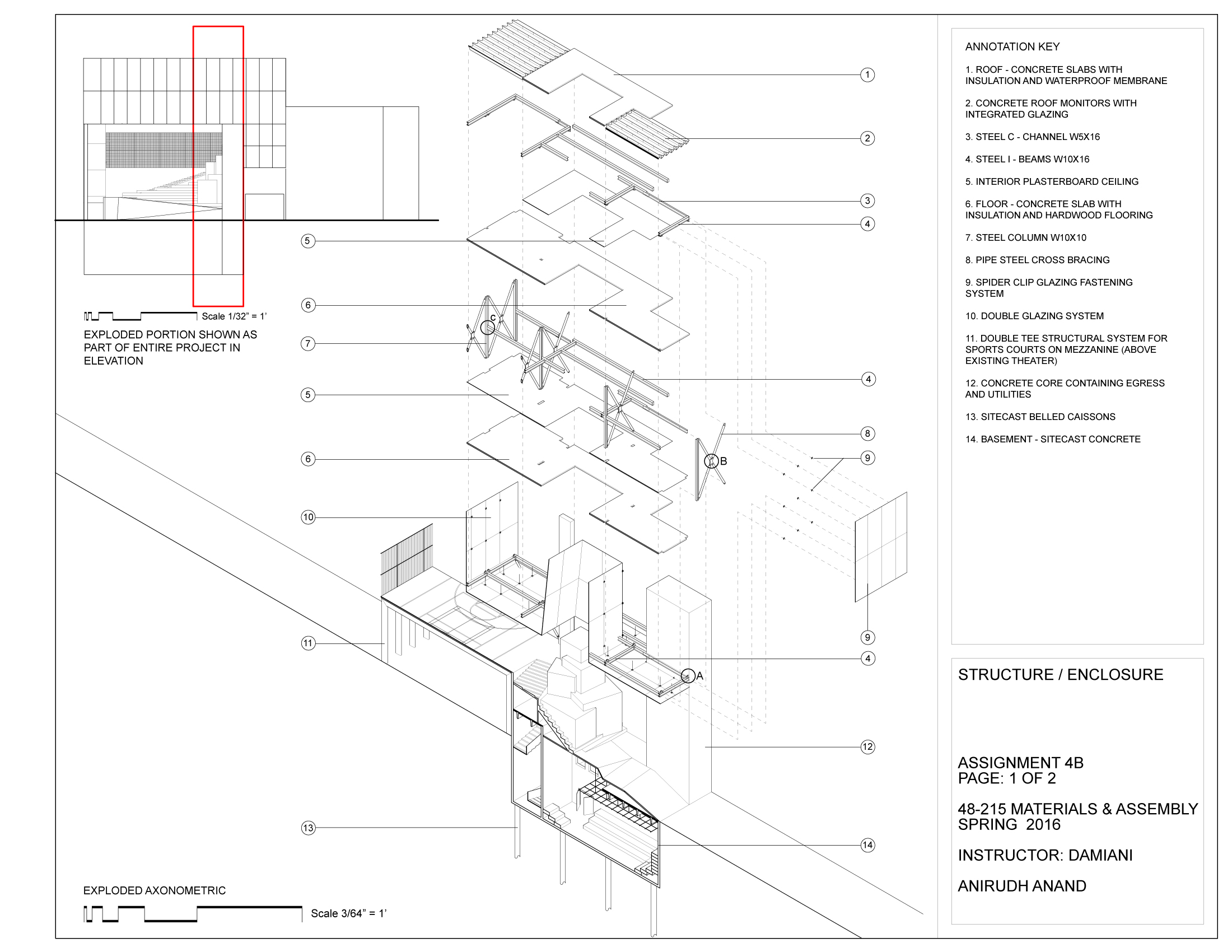 Materials and Assembly Structure / Enclosure Specifications 1 (clisk to enlarge)