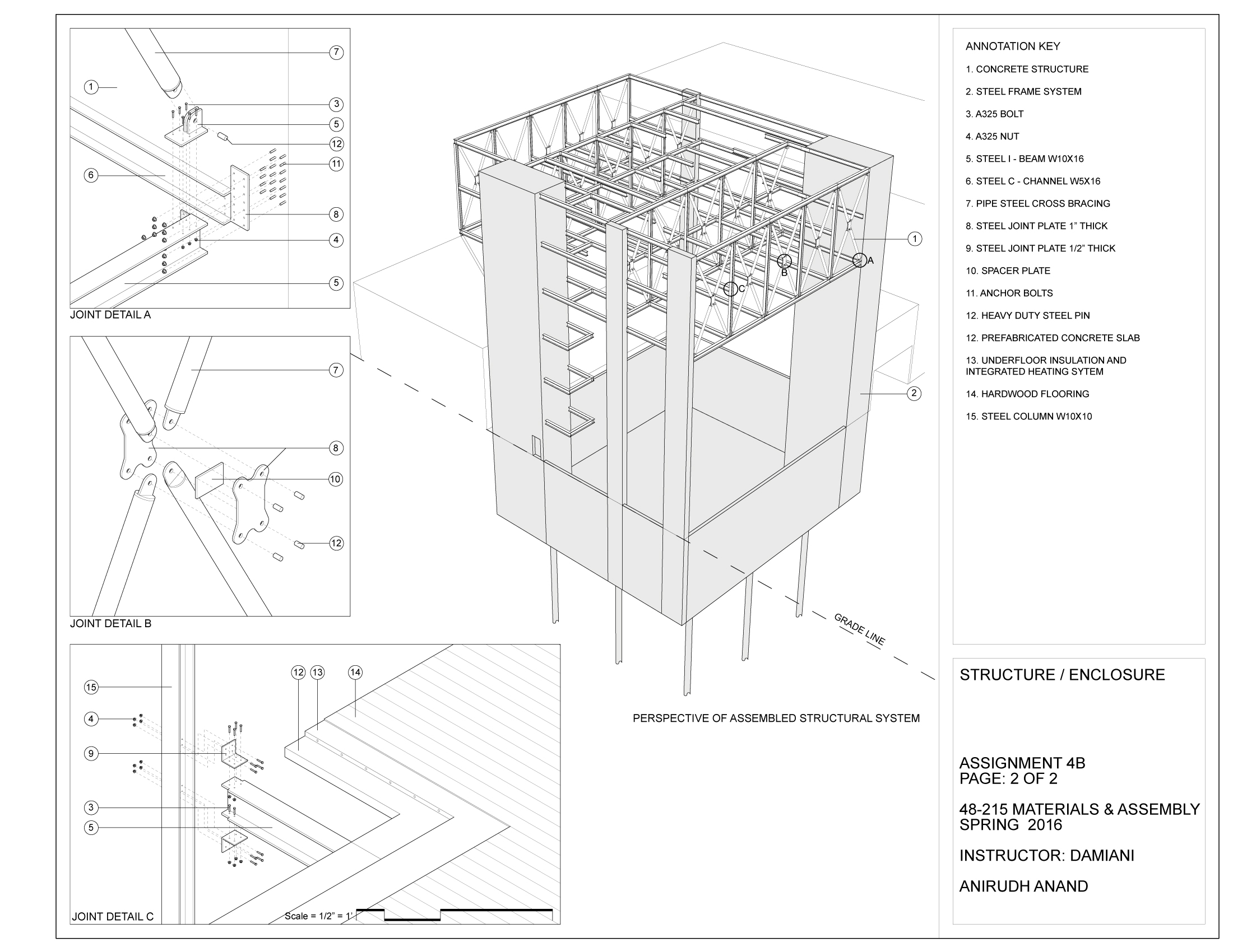 Materials and Assembly Structure / Enclosure Specifications 2 (clisk to enlarge)