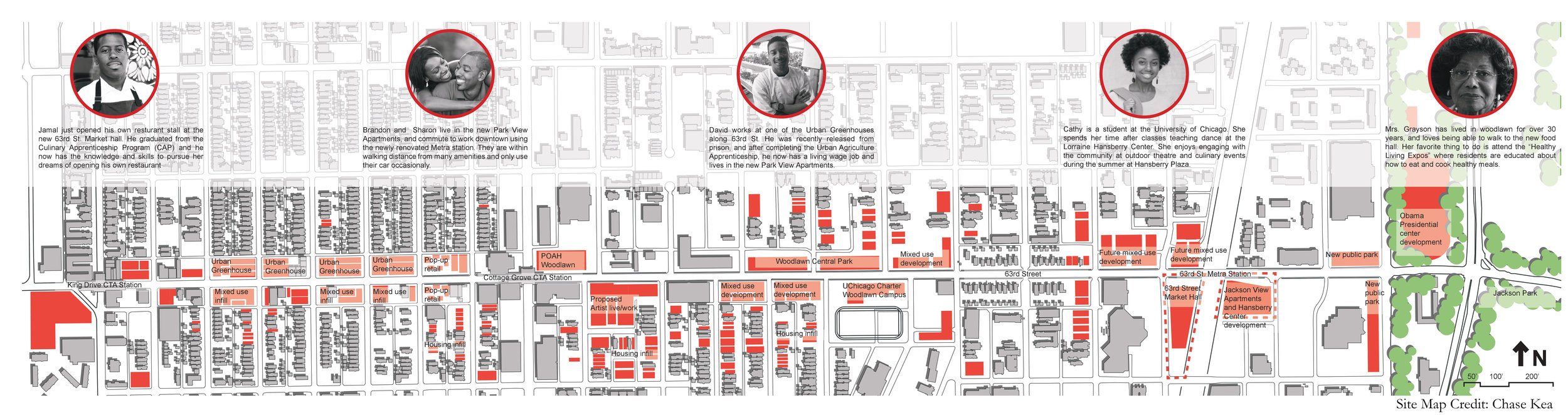 Extended site map, including client and context analysis.