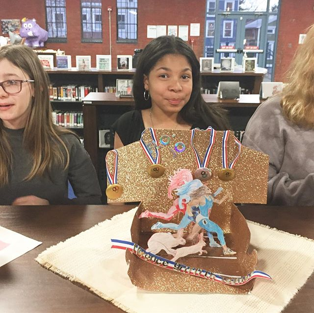 Long overdue share from @hudsonarealibraryny last week in celebration of our collaborative work around art and feminism with artist Maria Manhattan @manhattanmaria !! What an wonderful opportunity and experience to honor women! Thank you to all who came out to learn about The Box Lunch and support this project, which will be on display at the library for another 3 weeks. Go check it out! . . . #perfecttenhudson #theboxlunch #communitylove #weloveourlibrary #localartists #womenempoweringwomen #collaboration #youngartists #thedinnerparty #honorablewomen #celebration #hudson #hudsonvalley #columbiacounty #proud #greatwork #gosee #rebeccasugar #witches #mariatallchief #marleydias #hyuna #megumiigarashi #flojo #thenandnow