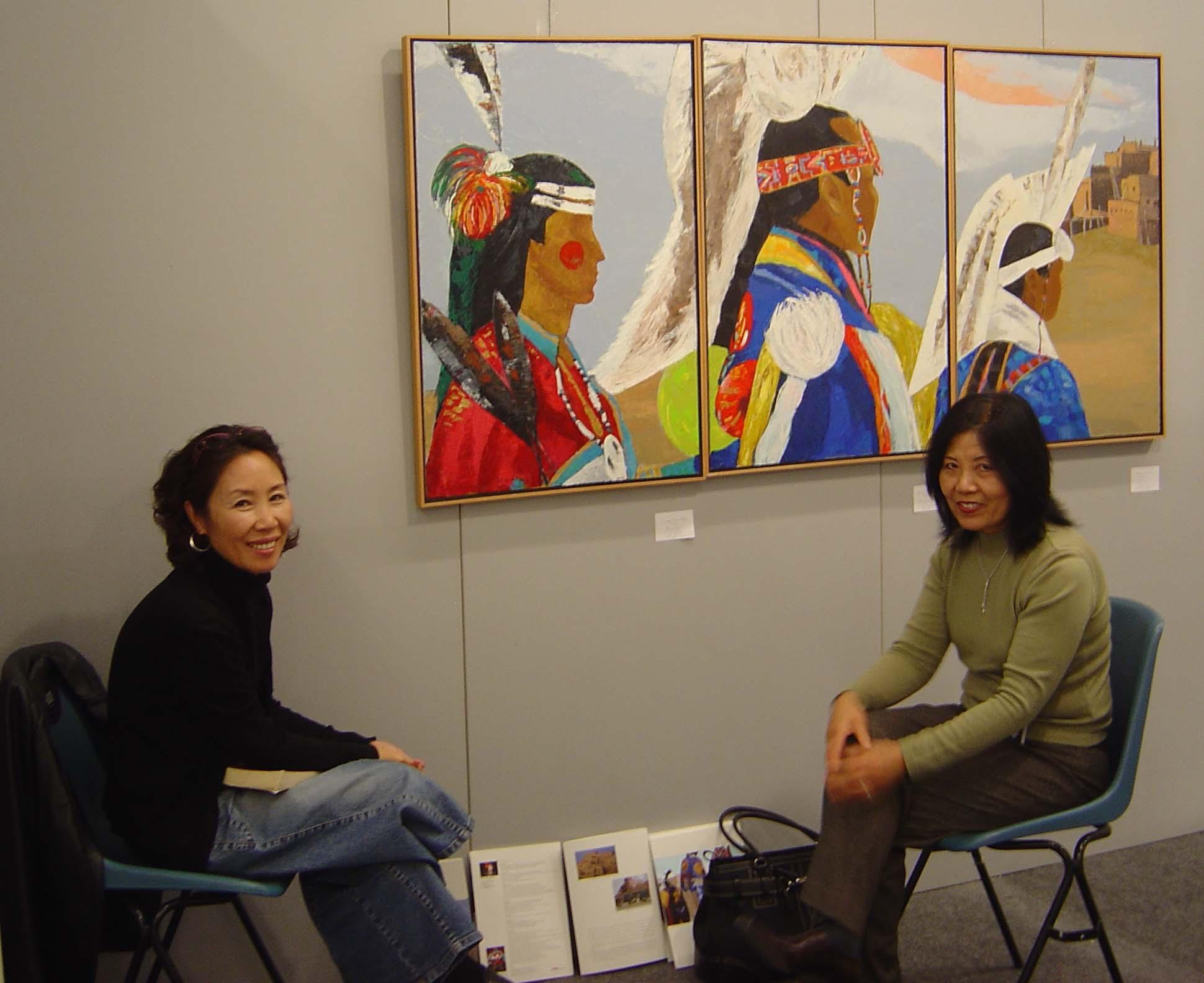 2007 Florence Biennale_Artist Sinae Lee