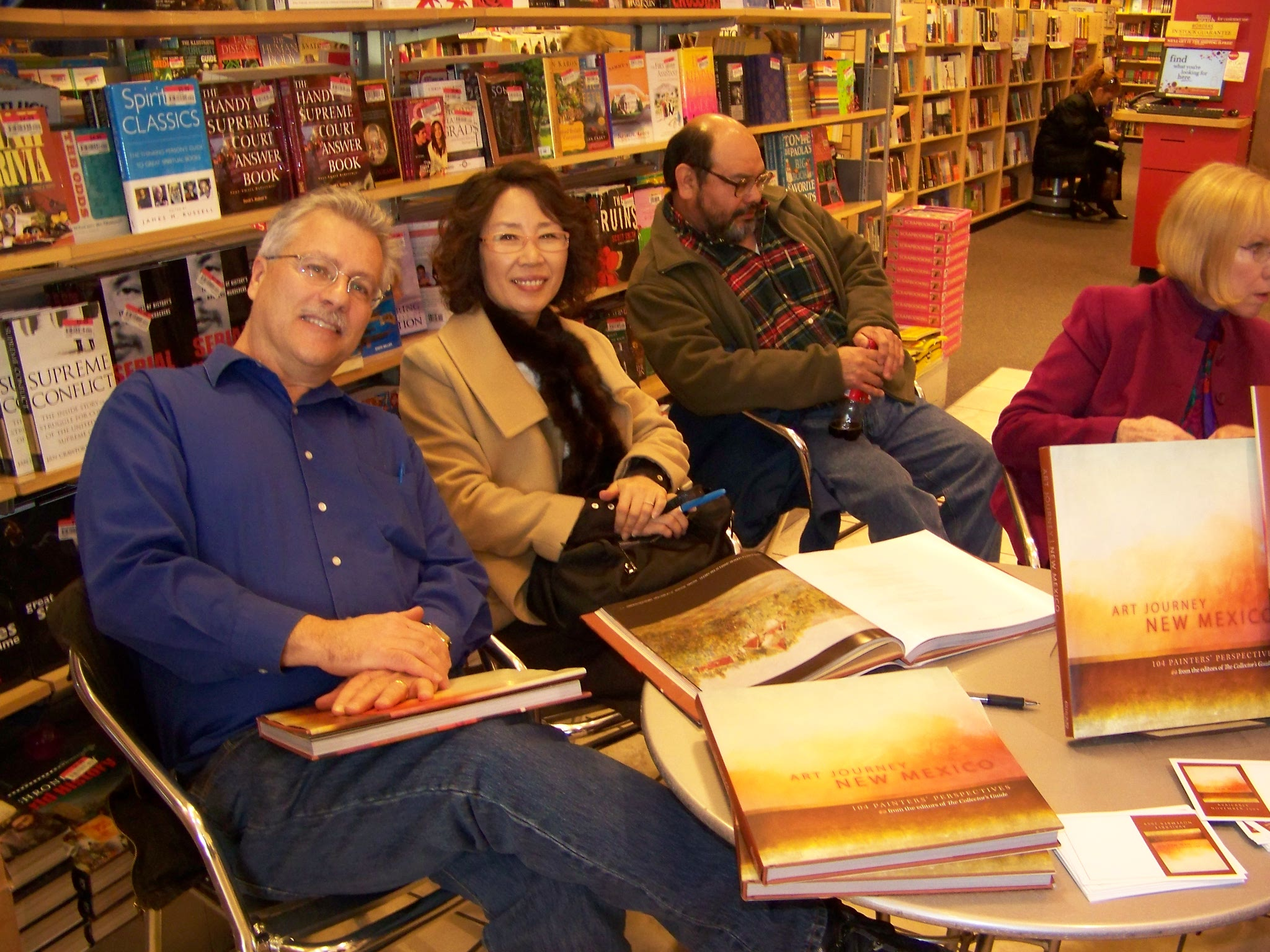 Book Signing, Barns Nobles_Art Journey