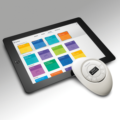 Hunter Douglas PowerView App and Pebble Remote