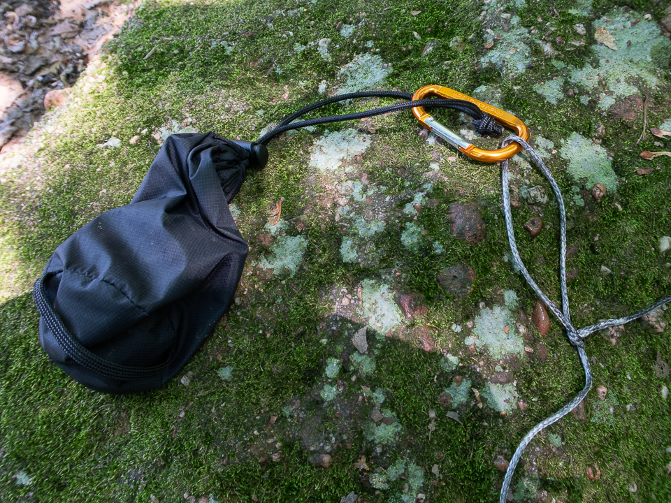 rope and rock bag