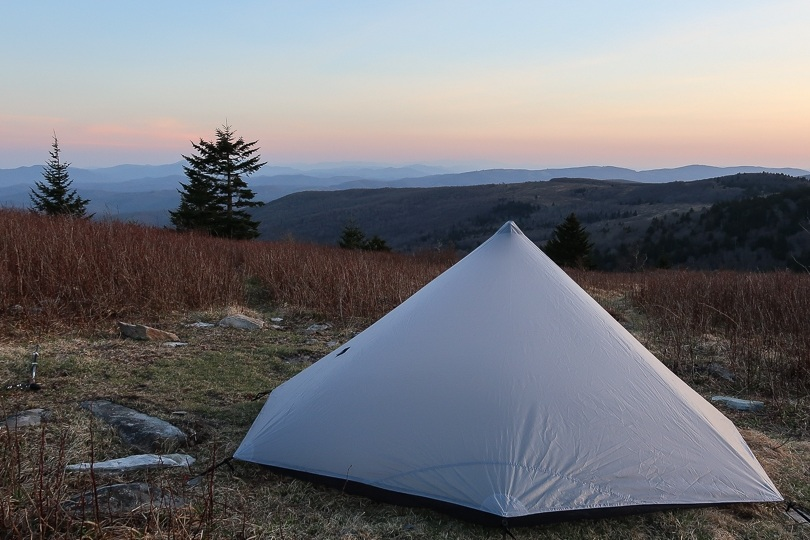 Mount rogers camp spot
