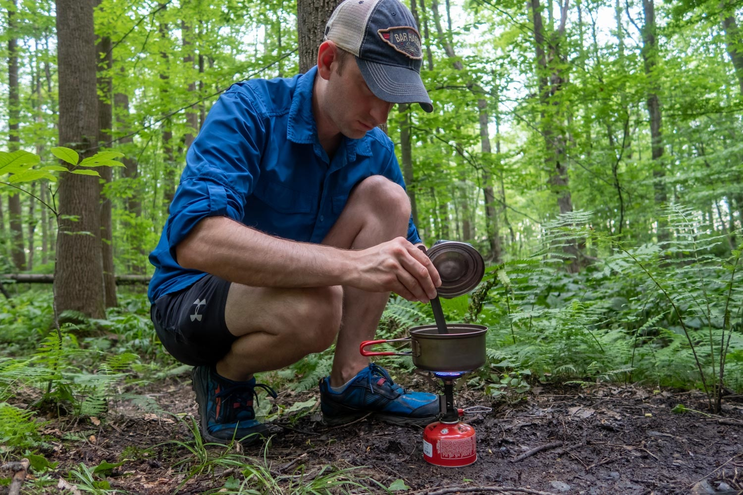 cooking with the msr pocketrocket deluxe stove