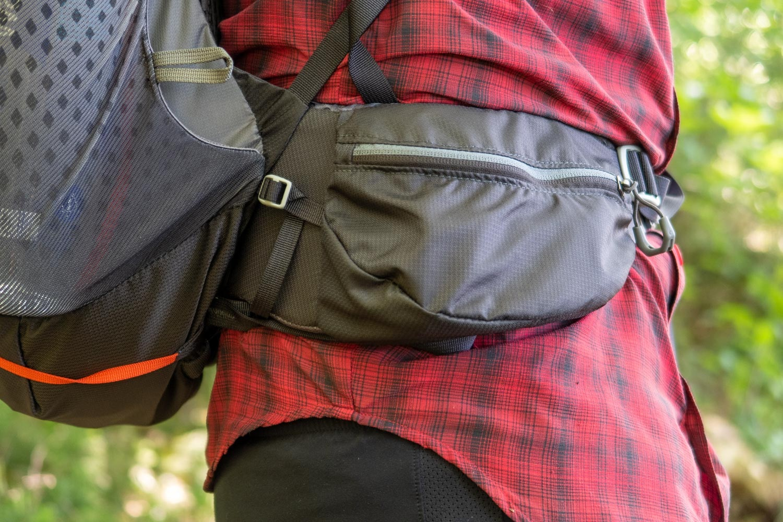 gregory optic's hip belt pockets