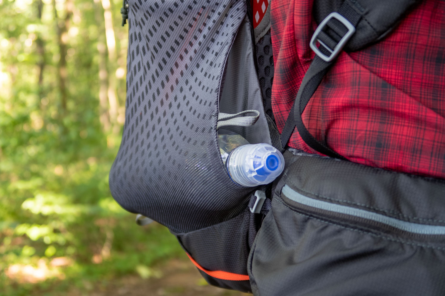 side pocket holding a bottle the Holster style way