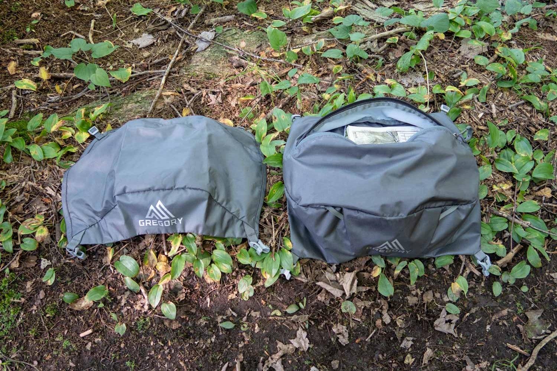 REMOVABLE pack lids