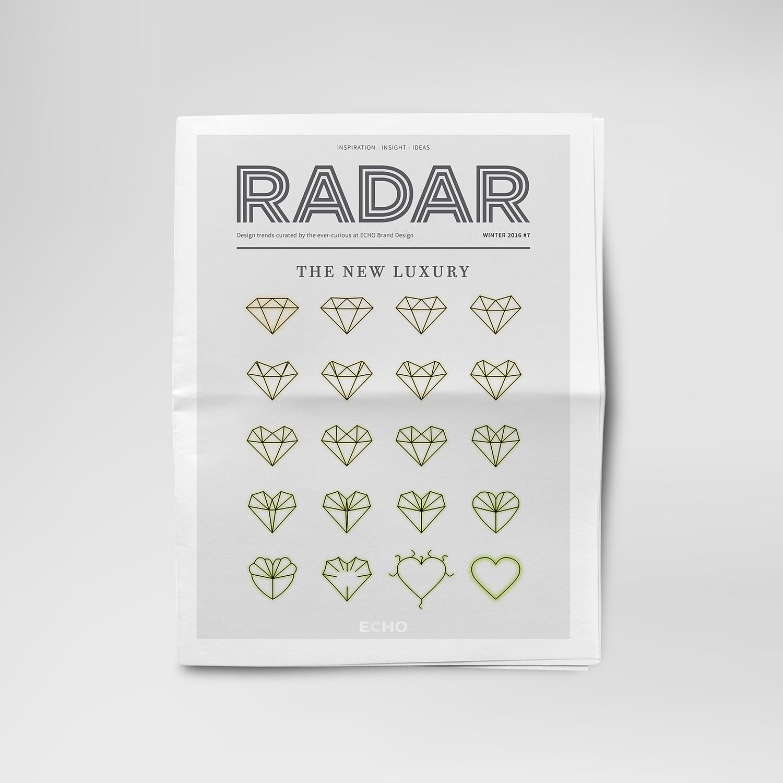 Radar publication - The New Luxury