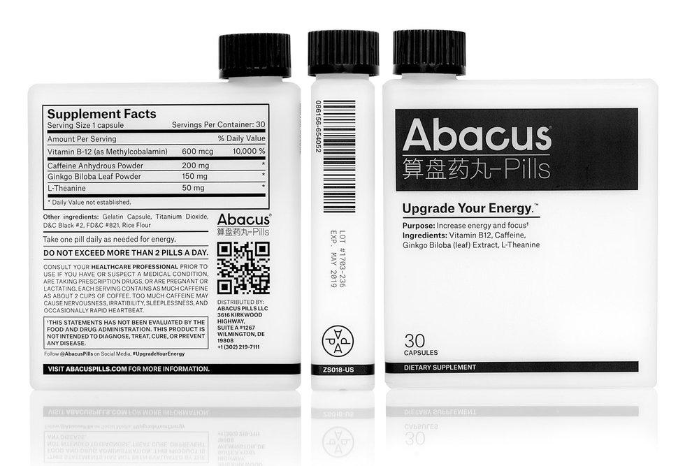 Abacus Pills packaging