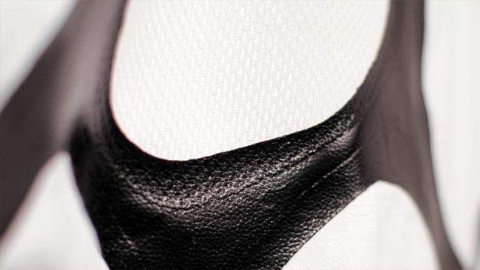 Zoa bioleather close up