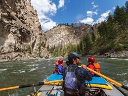 Idaho River Rafting