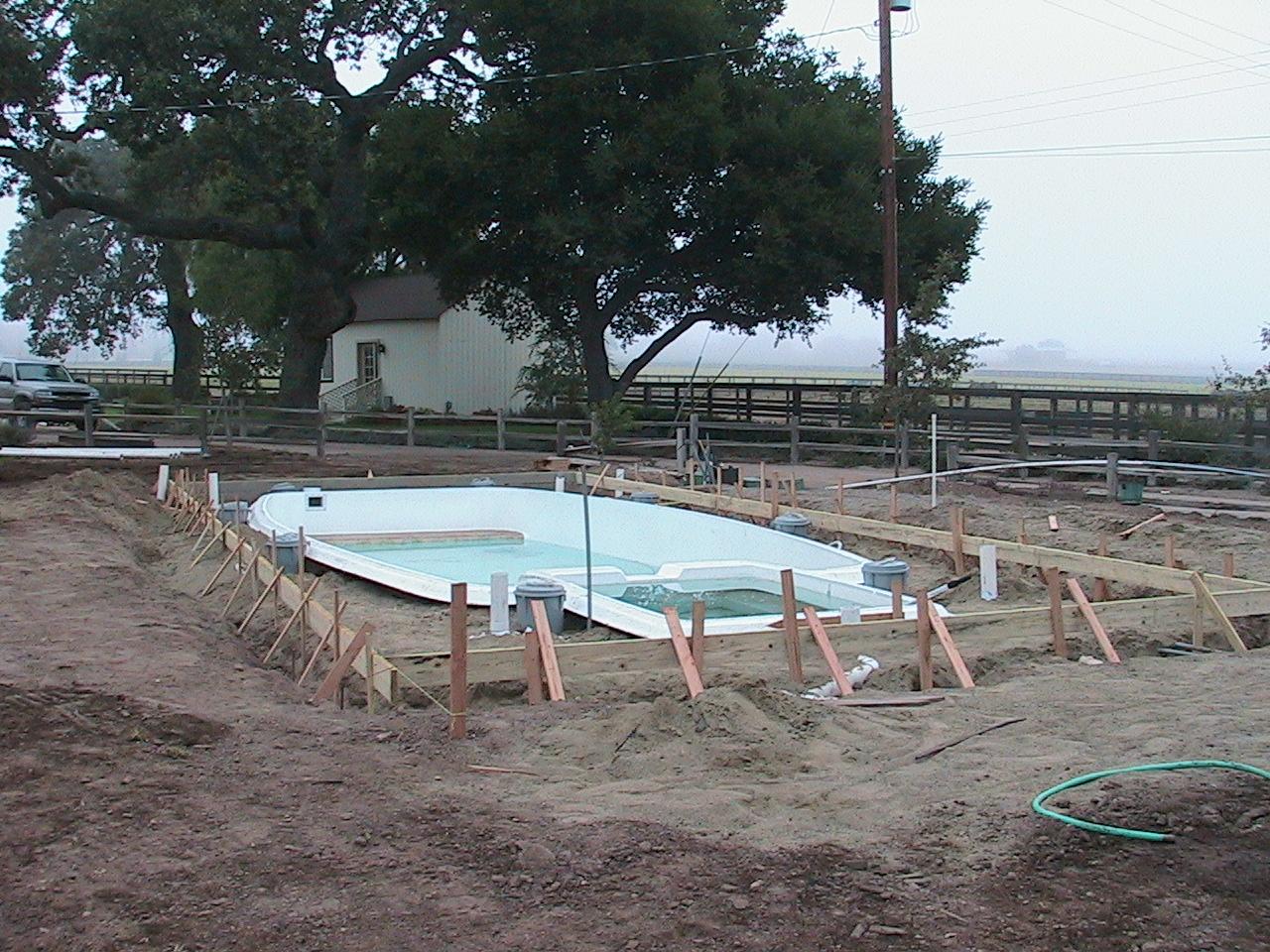 Pool - Before