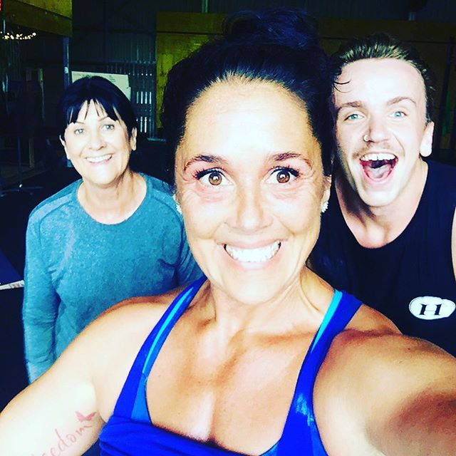5:30am party at CrossFit Mur'bah this morning!  Thanku guys! 💥💪🦄🏋️‍♀️💜🌼 @professionalwhey @skinourishment @rxsmartgear @crossfixe @standorsubmit @barbellsforboobs @bulletproof  @crossfitbyronbay #ketoos #runfordepression #righttoknow #faf #fitasfuck #motivation #determination #discipline #letstalkaboutit #crossfitgames #crossfit  #freedomfloatation #everdaychampion #faithinpossibility #wildwomanwellbeingretreats #authenticityandpuppiesmatter #wildwoman #overfortynkillingit #prettystrong #nevertooold #fun #badass #freedomthrudiscipline #amandaallen www.crossfitbyronbay.com www.amandacrossfitallen.com www.ketobyronbay.com.au