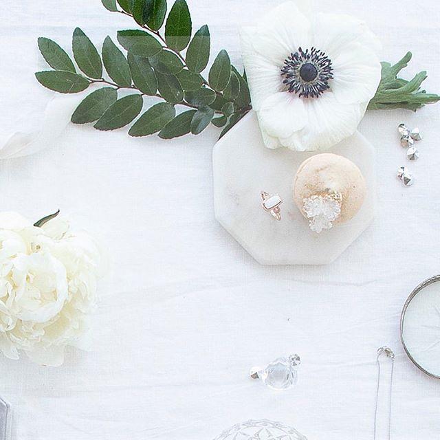 geode macarons & diamonds 🌿