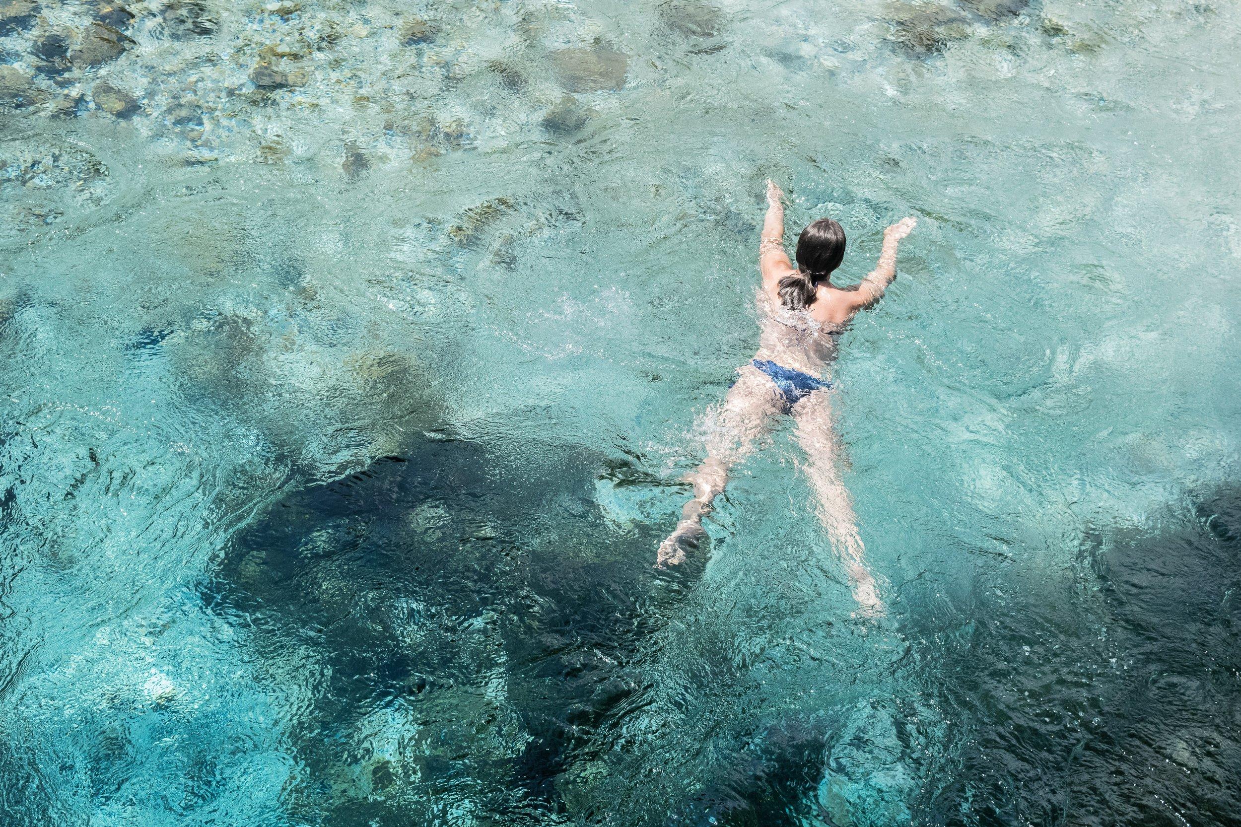water-swimming