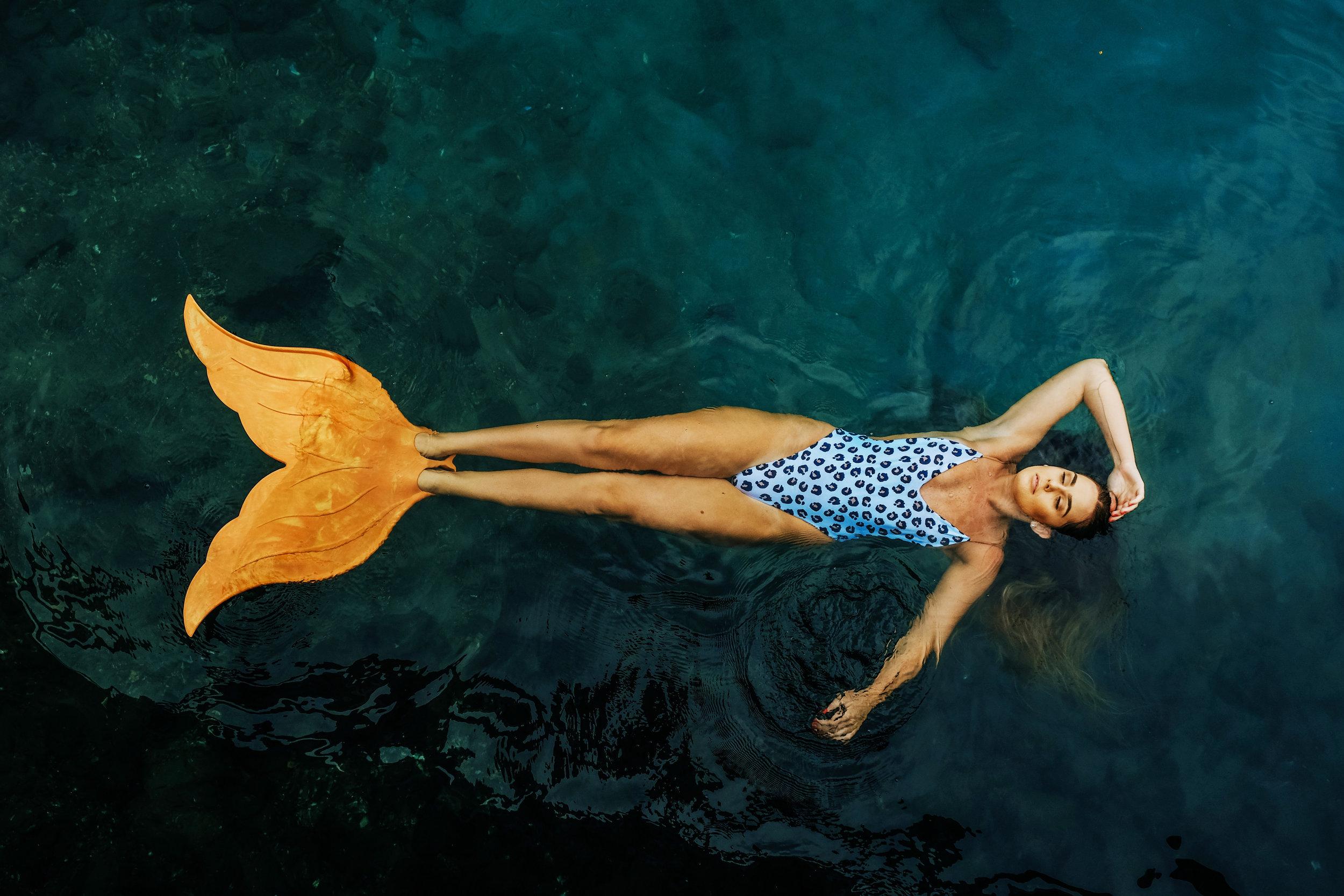 mermaid in water