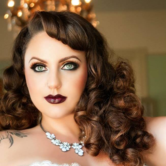 A beautiful bombshell of a woman in her own right, Marilee was not the model for this shoot, but the talented photographer.Photo by Shannon Brooke, look by Malicious Makeup.