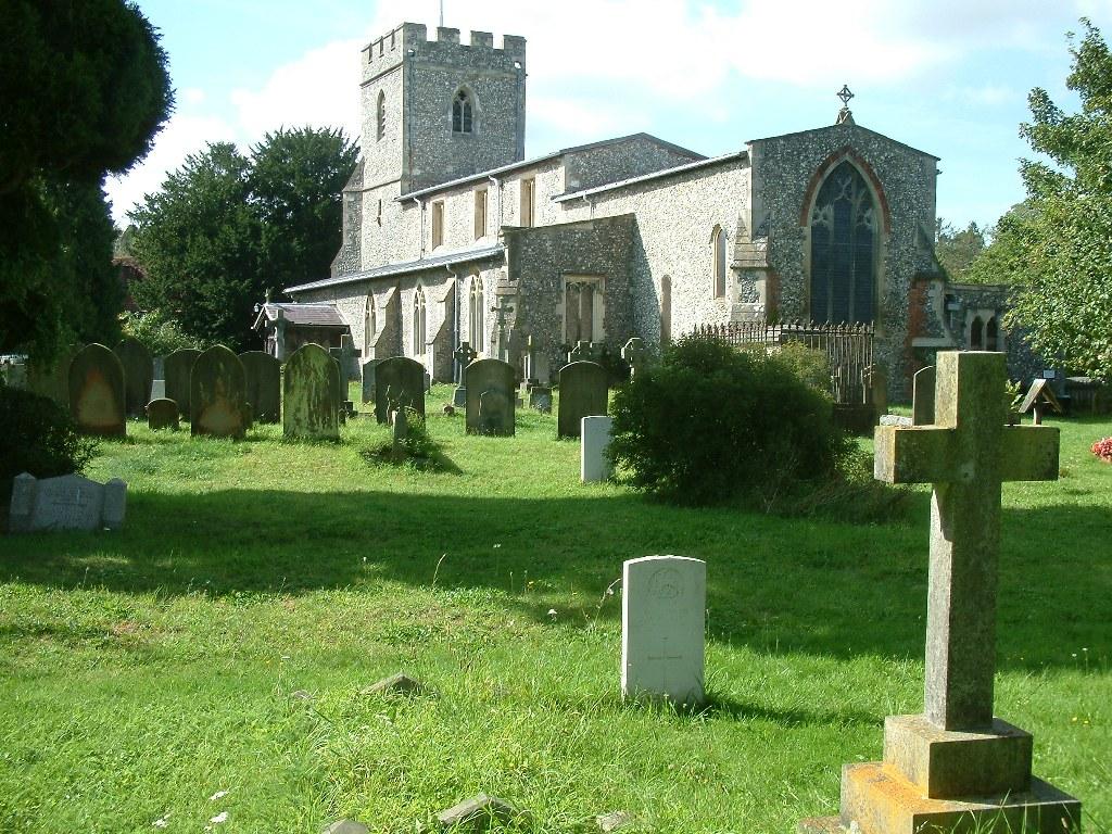 Churchyard at Chalfont St Giles