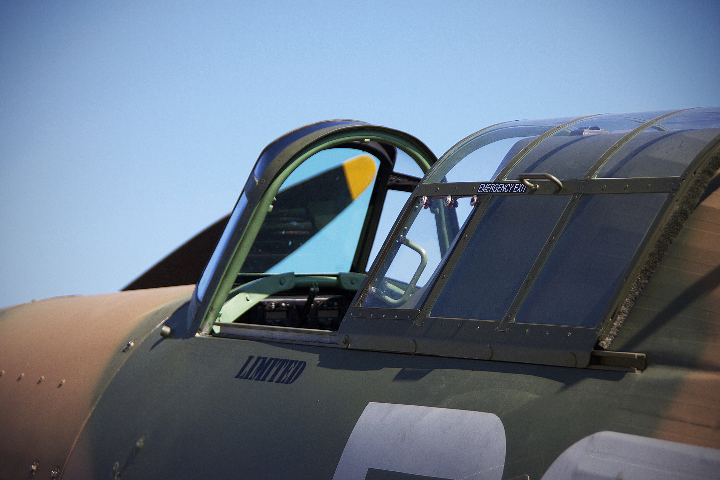Cockpit detail