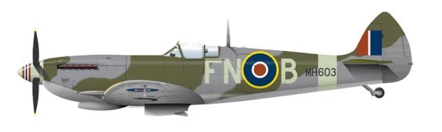 MH603 colour scheme