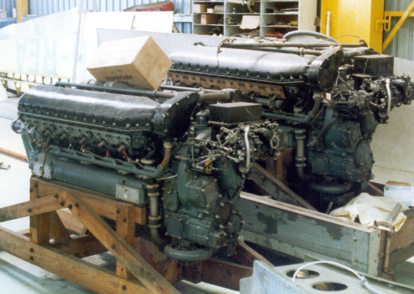 Allison V-1710 engines