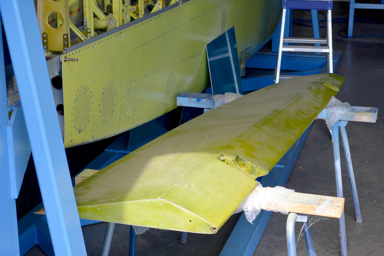 MH603 aileron