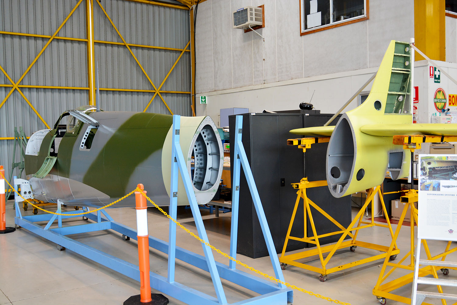 MH603 fuselage and empenage