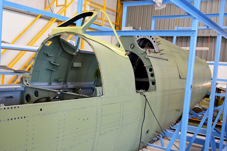 MH415 forward fuselage