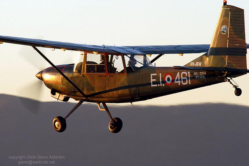 SIAI Marchetti in flight