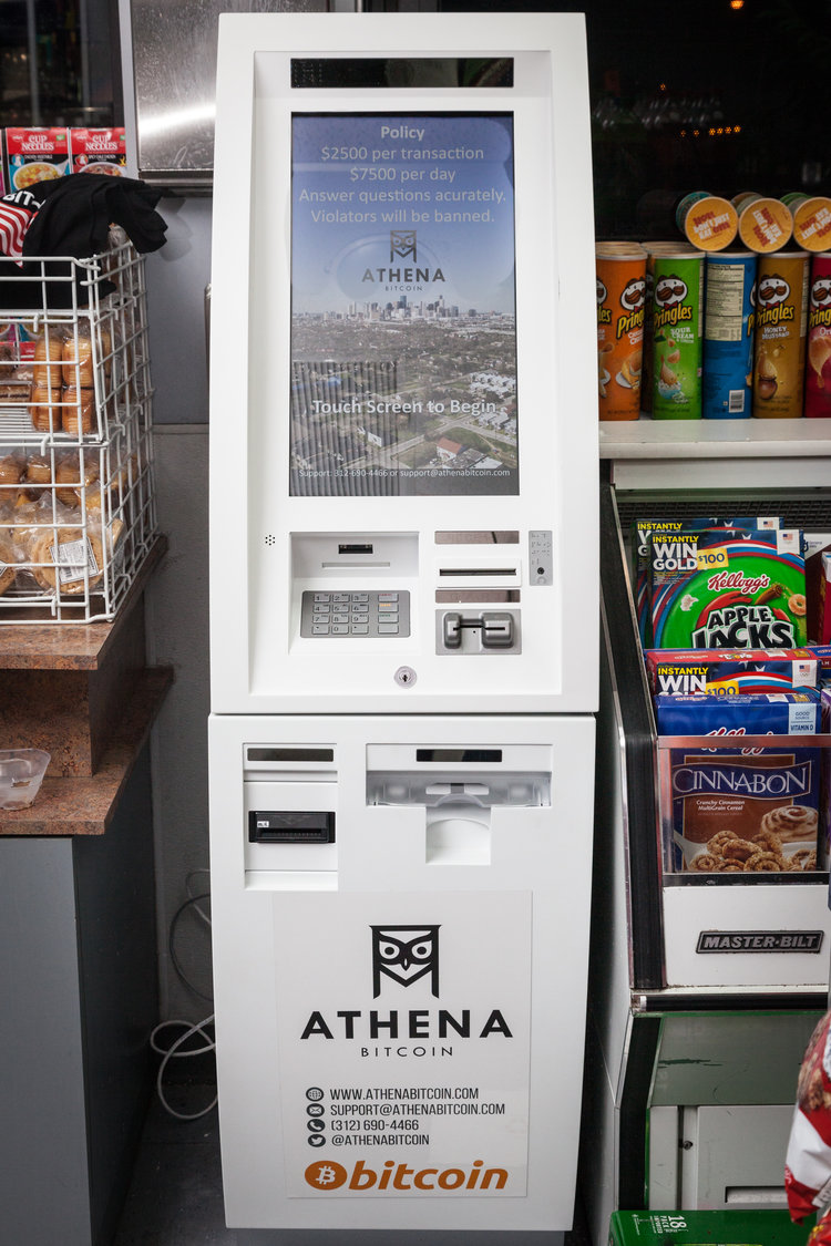 This is a 2-way Bitcoin ATM and the 3rd Athena Bitcoin ATM in the south Florida region.