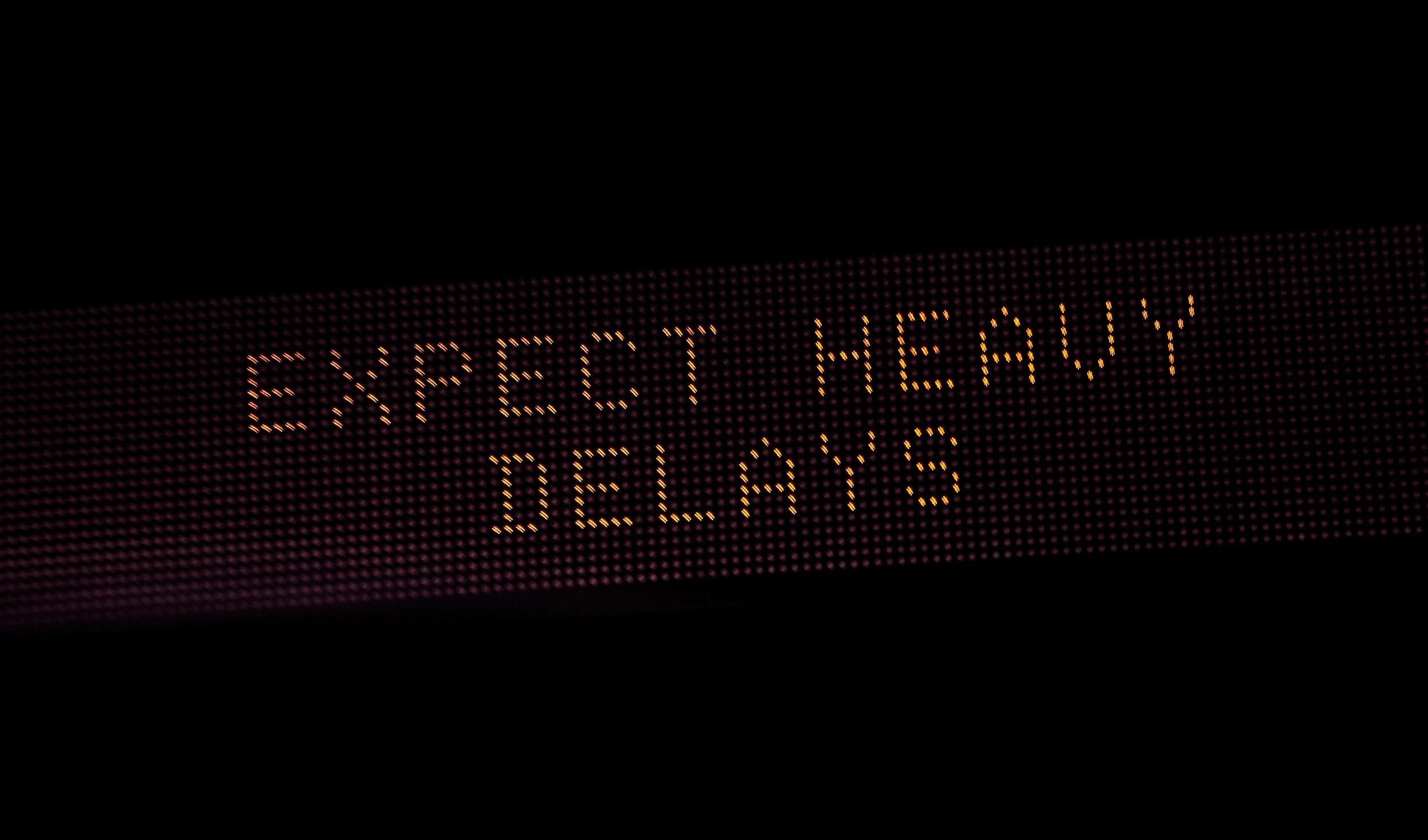 Expect_Heavy_Delays_Traffic_Sign_(24011850854).jpg