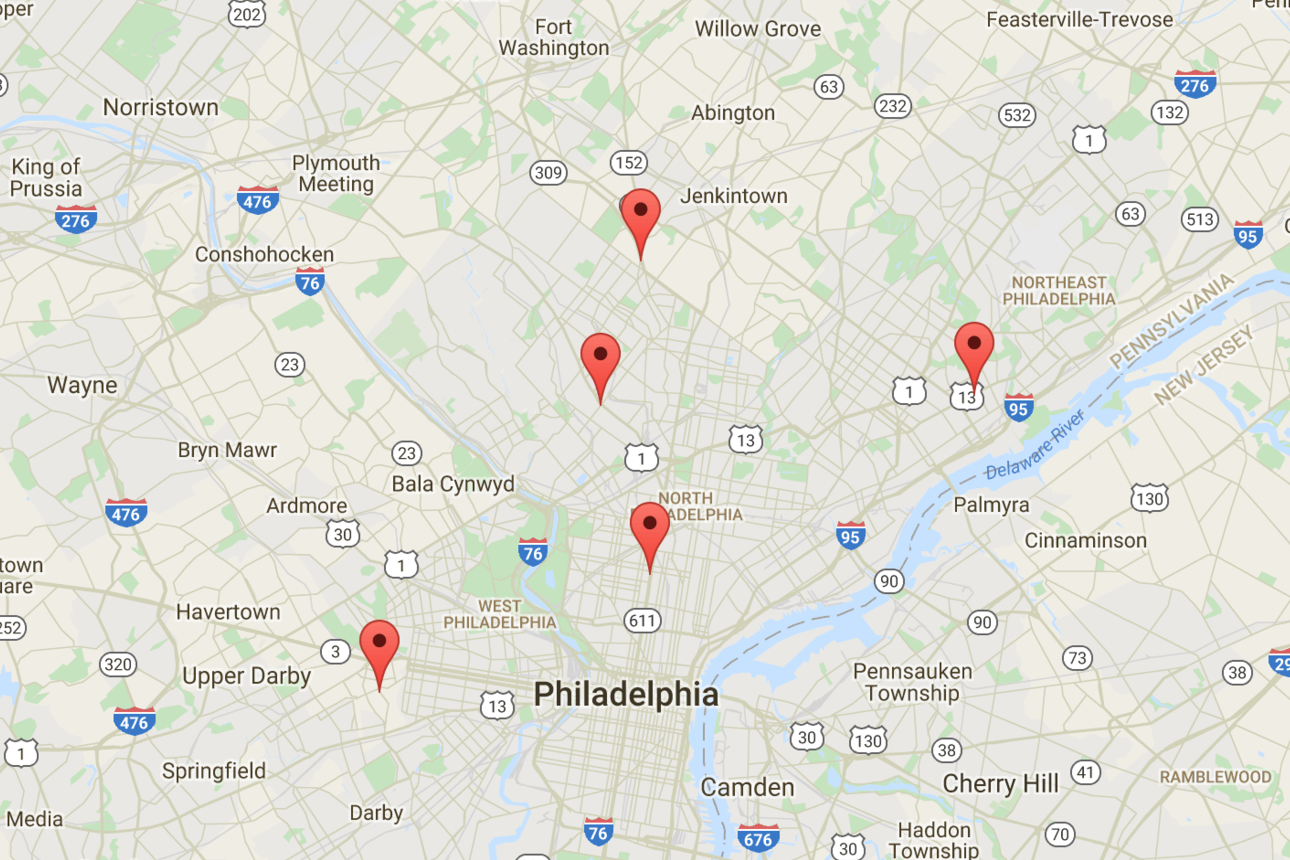 Philadelphia ATMs