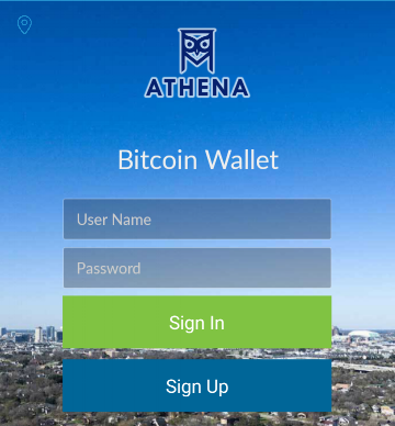 Your username and password are the only things needed to access your Athena wallet now or in the future. - Better write them down because