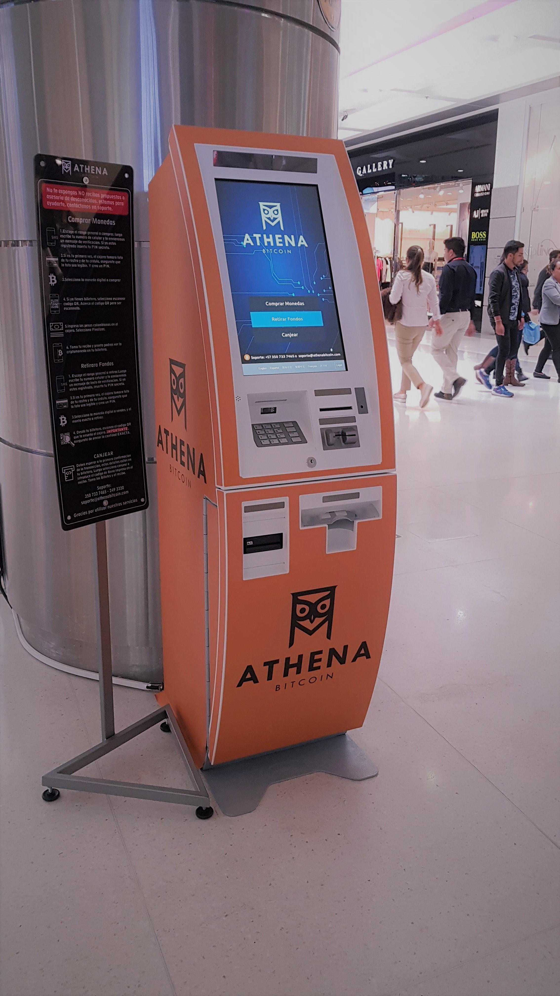 ATM-urile bitcoin (BTM) din întreaga lume se extind în număr mare