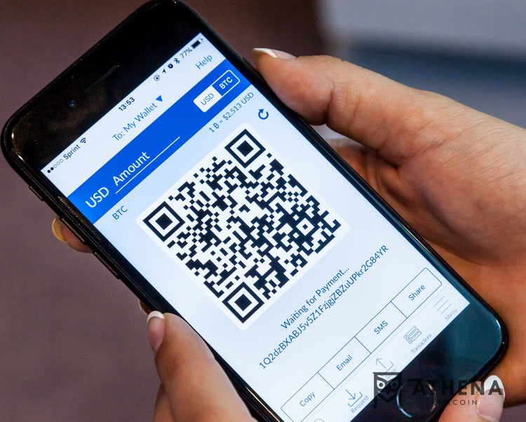 QR Code: A visual representation of a Bitcoin address - used to scan an address with a camera or at an ATM