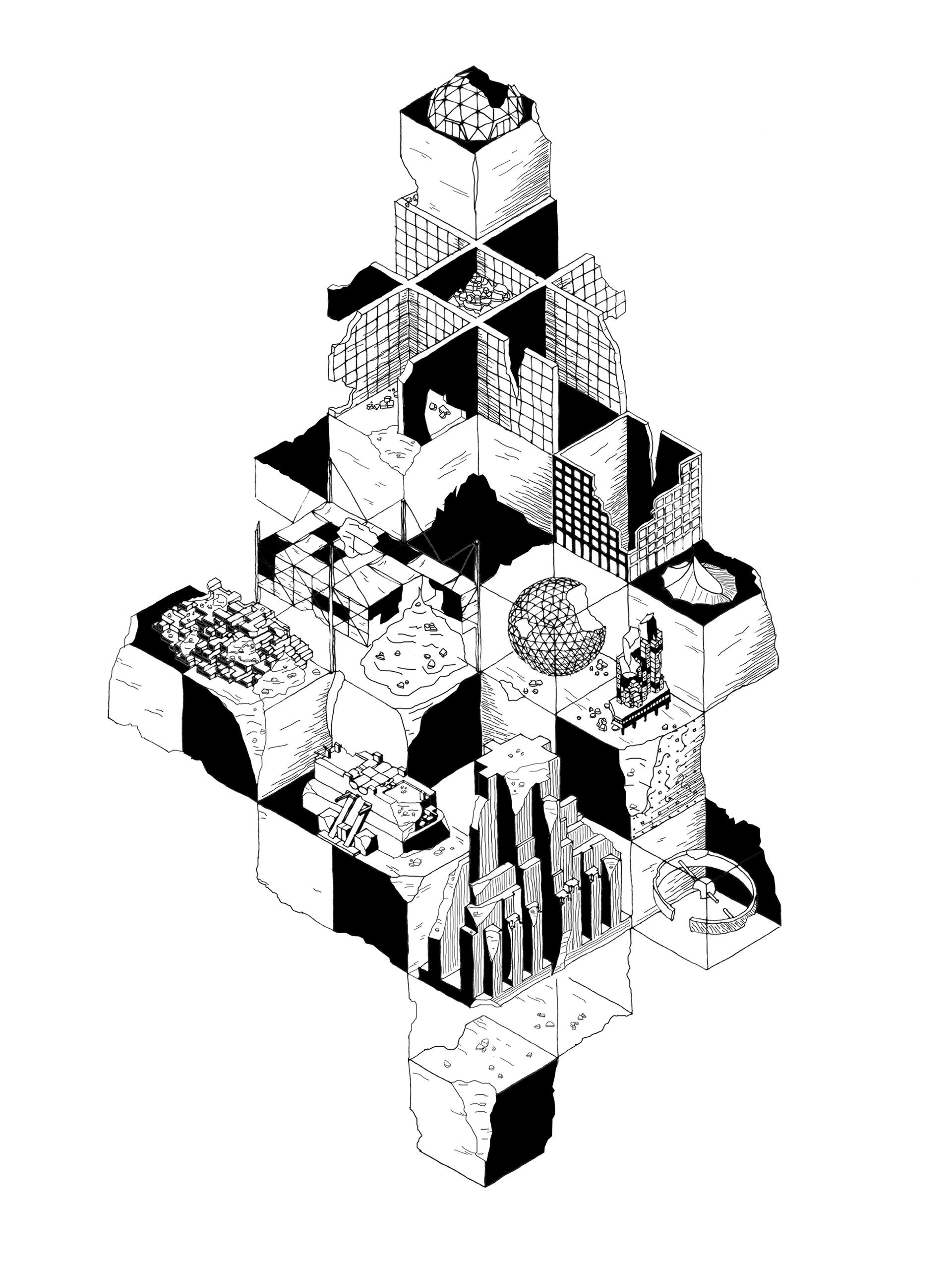 Claudio-Triassi_Dystopian-Megastructure.jpg