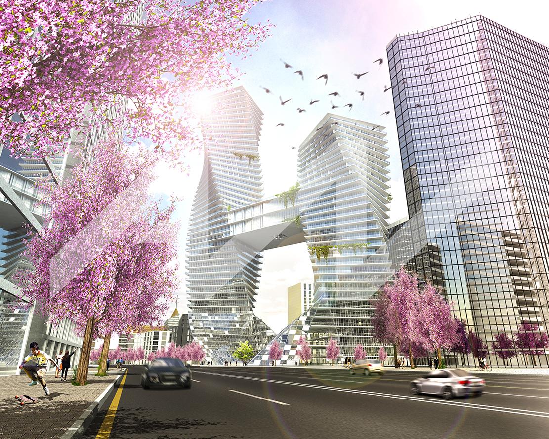 Vue de la rue (cherry blossom season) 4 min.jpg