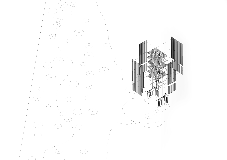 Felix Wilson - Felix-Wilson-TheArchiologist-Tower_III-4-Worms-Eye-View-Exploded-1_200-A5.jpg