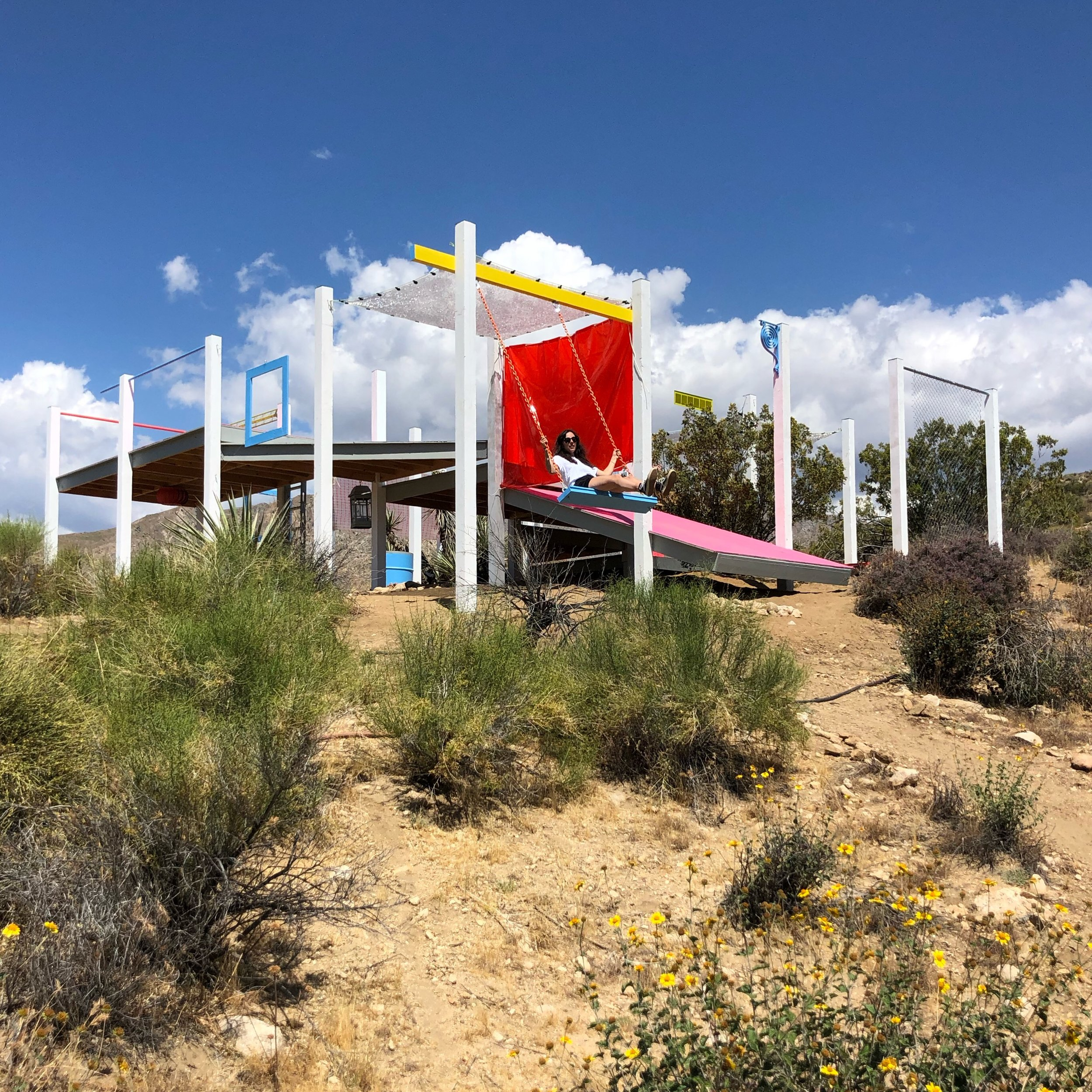 Office Kovacs and Kyle May Architect, DOTS, A Camping Pavilion, Morongo Valley. California 2019.JPG