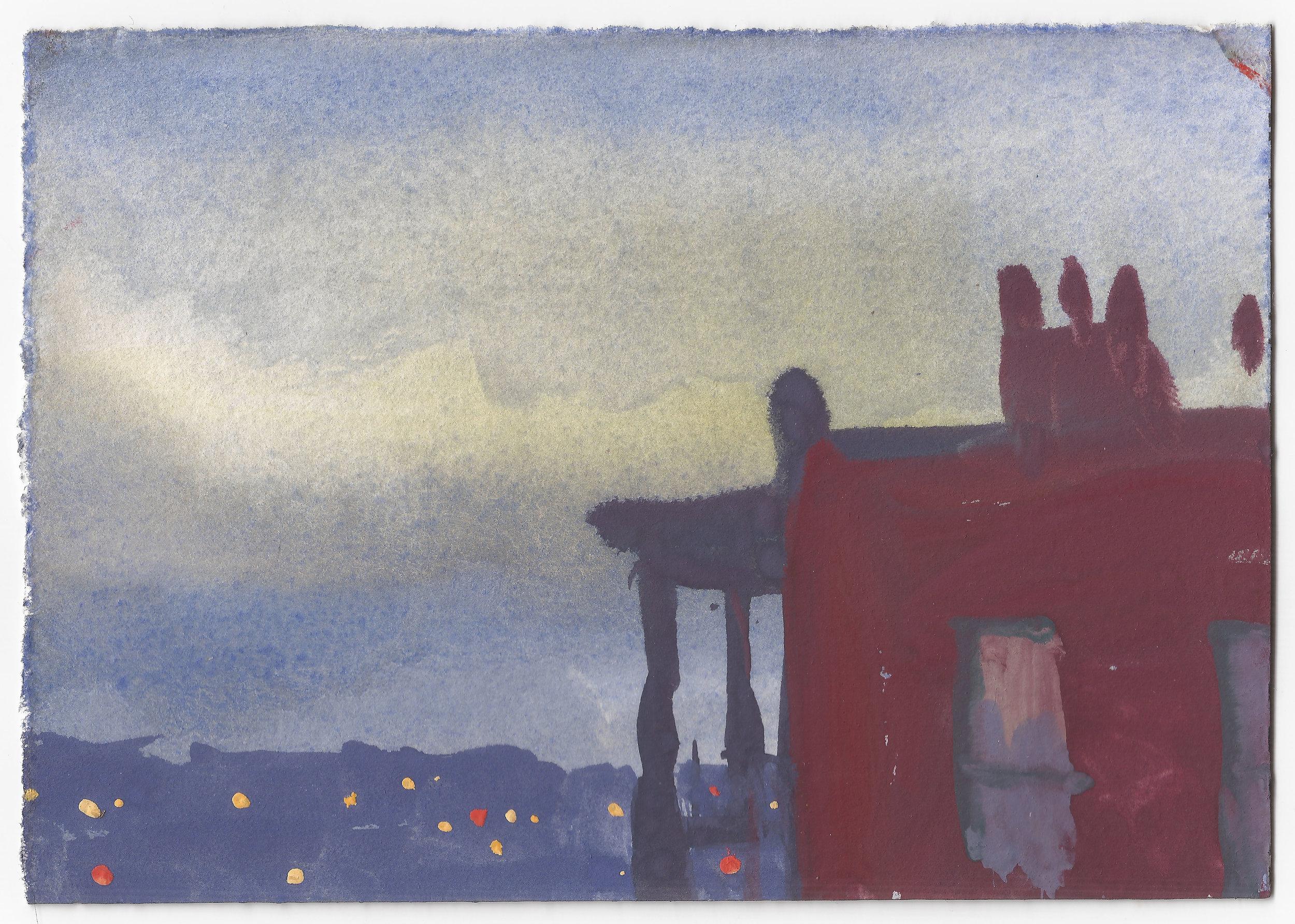 Twilight in Mount Adams