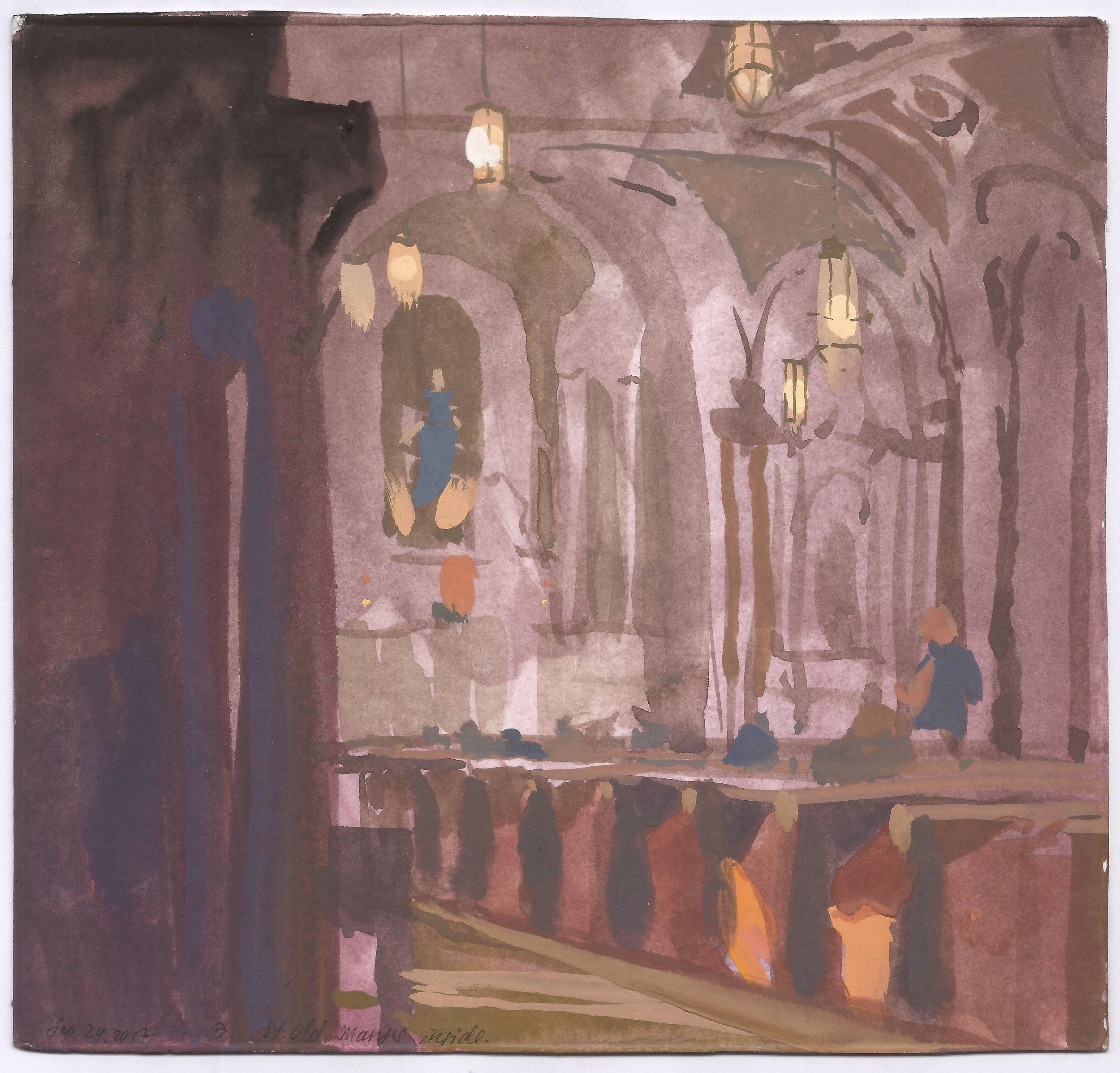 St. Mary, Inside