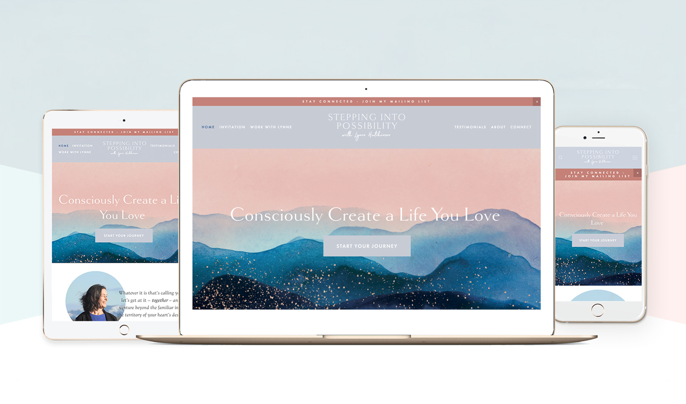 Website Design — Bea Rue Studios