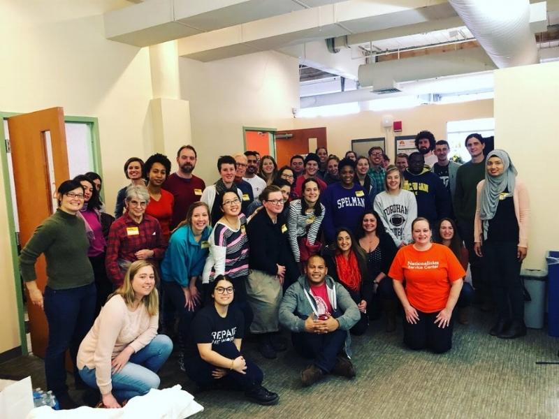 Volunteers at Nationalities Service Center