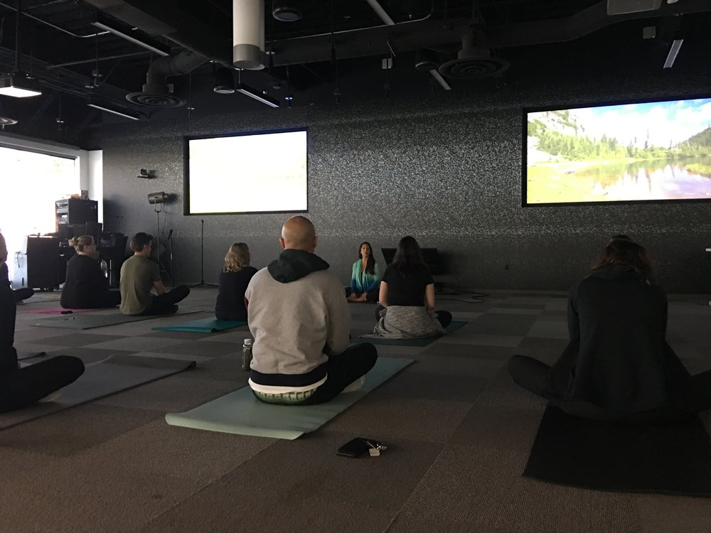 Movement & Meditation in the Workplace -